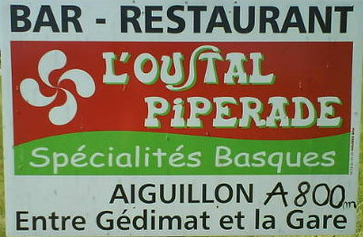 L'Oustal piperade