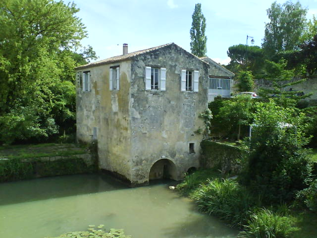 Moulin sur la Gélise