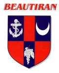 Le blason officiel de Beautiran