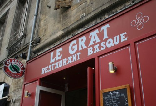 """Le Grat"", restaurant basque à Bordeaux"